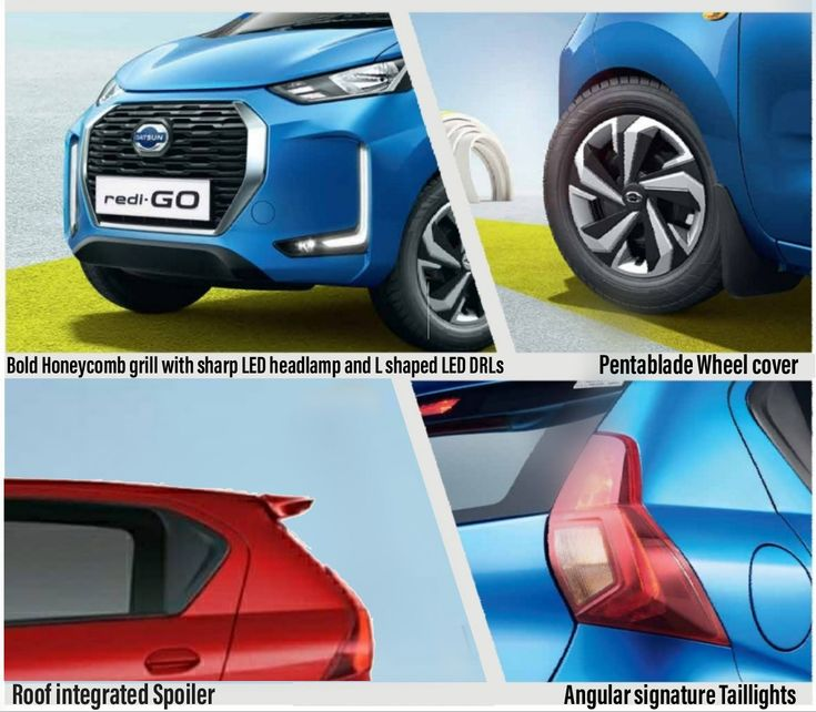 Datsun Redi-Go Facelift Changes In 2020