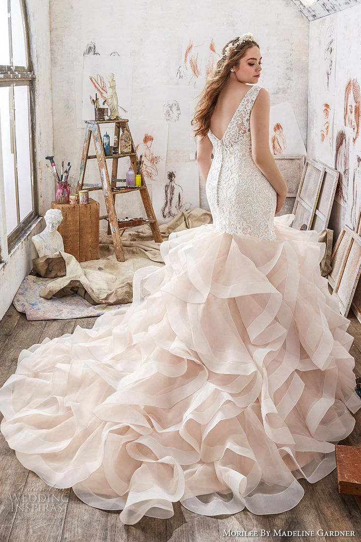 Morilee by Madeline Gardner Wedding Dresses Spring 2017 - 201 Julietta eline Plus size wedding dresses
