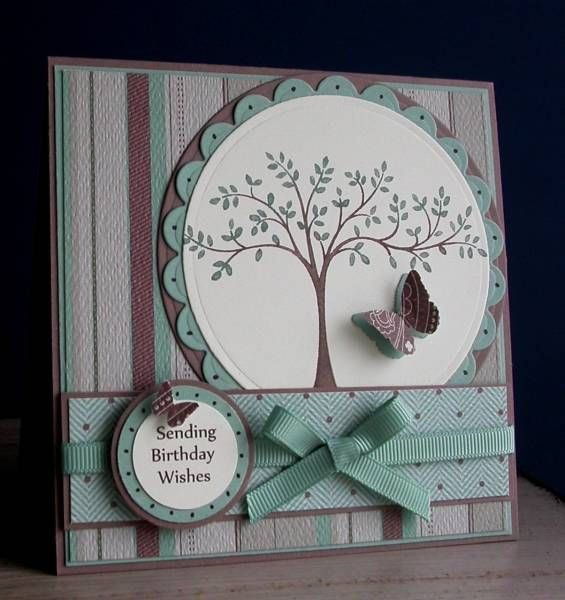 Stripes by card crazy - Cards and Paper Crafts at Splitcoaststampers