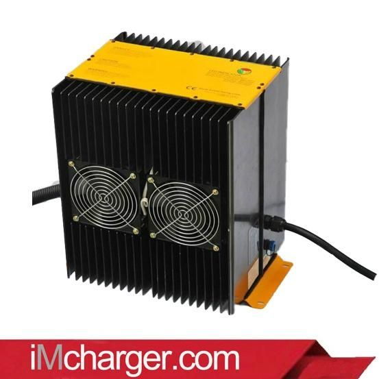 80V 80A electric forklift truck battery charger 2 ton load - China -