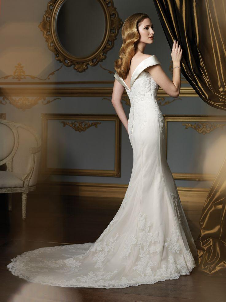 24 best Wedding Dresses images on Pinterest | Weddings, Groom attire ...