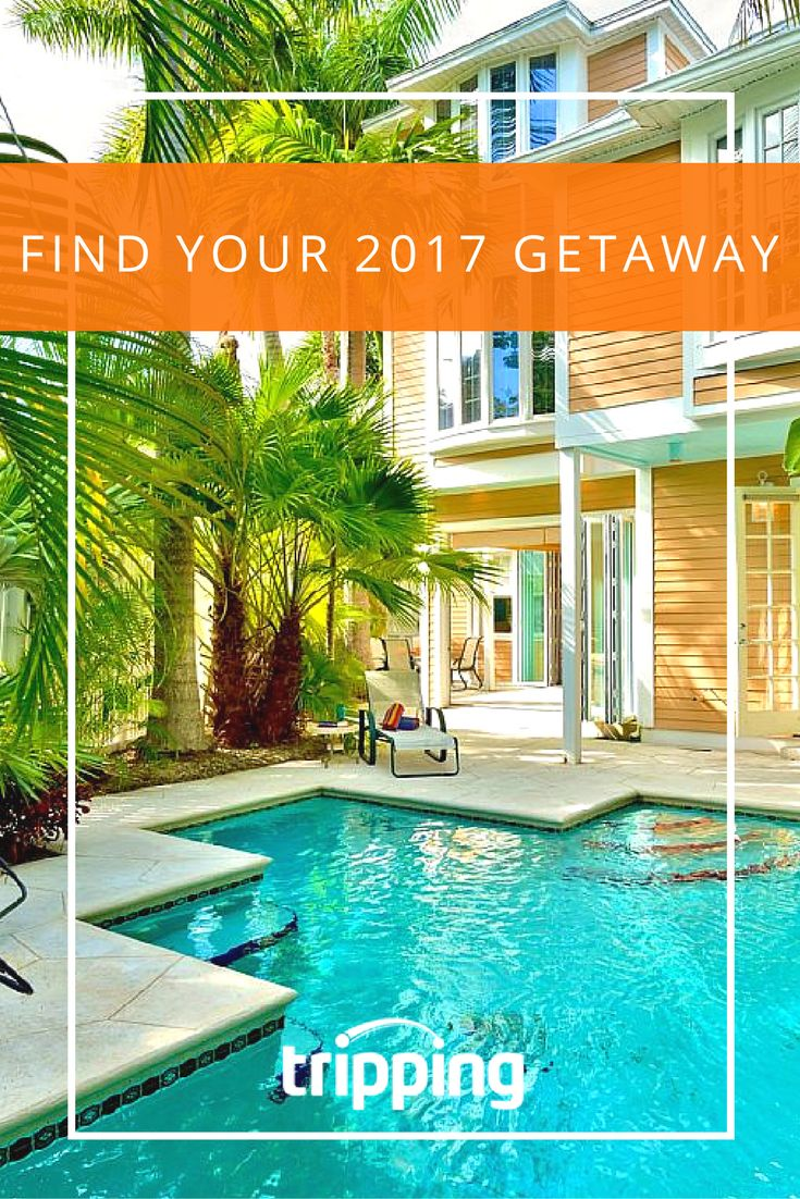 New year, new travels! Where will 2017 take you? Wherever your dream getaway, Tripping.com has places to stay.