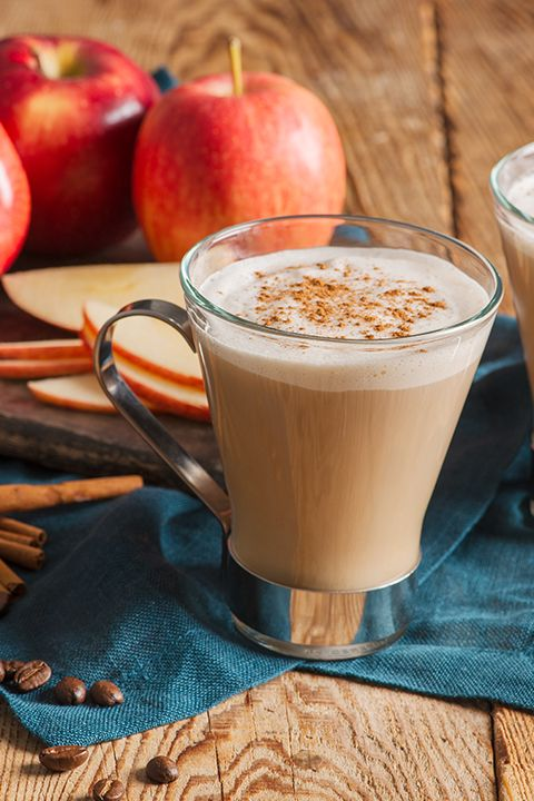 "INGREDIENTS BY SAPUTO | If we had you at ""Cinnamon"" this recipe idea is perfect for you! This spicy latte brought to you by International Delight, made with apple brandy and whipped cream, will be the star of this upcoming fall season."