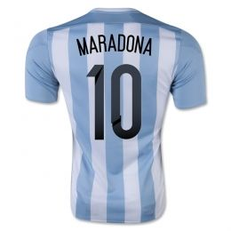 2015 Argentina Soccer Team Home Maradona #10 Replica Jersey 2015 Argentina Soccer Team Home Maradona #10 Soccer jerseys|cheap Agentina football jerseys sale