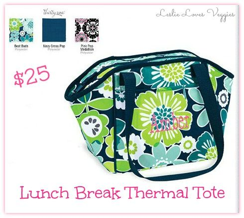 Sponsored: Thirty-one Lunch Break Thermal Tote {Rafflecopter Giveaway}