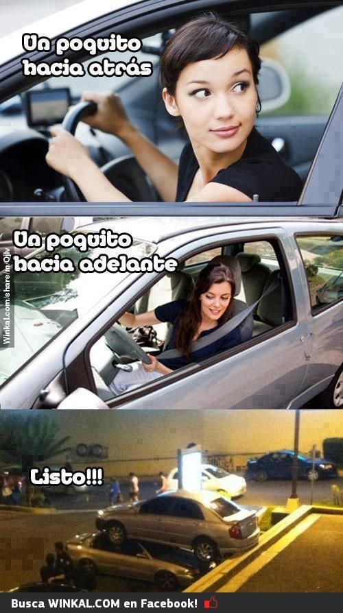 Como conducen las mujeres... ¿en serio?