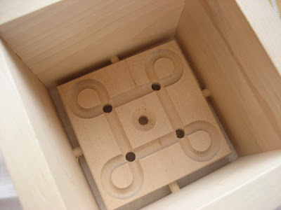 Wooden mold for the home cheese