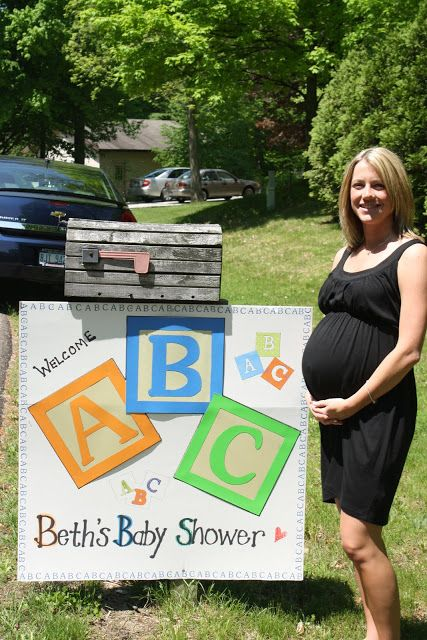 Rough Housing with the Rogers: ABC Baby Shower