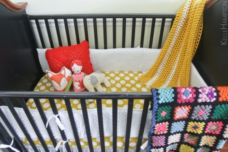Eclectic Nursery Decor via Kelly Hampton #babysneedcoolspaces