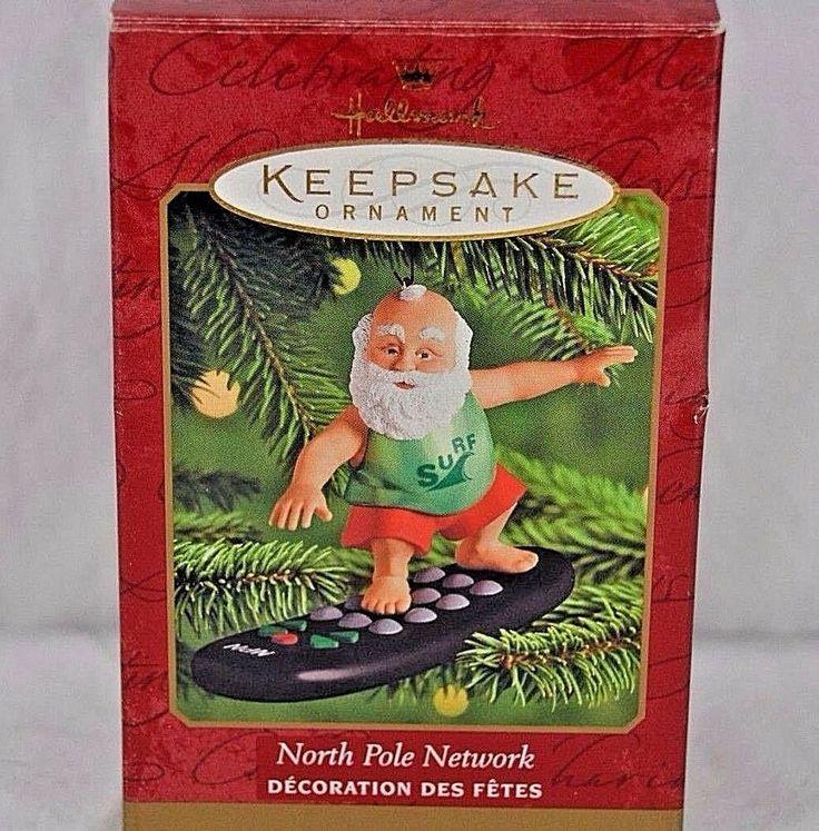 Hallmark Keepsake Ornament North Pole Network 2000 in 2020