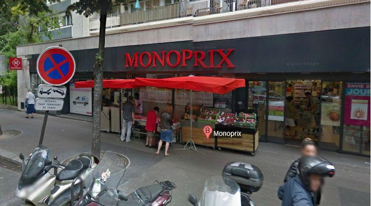 Monoprix convention 105 rue de la convention 75015 paris 01 45 54 33 63 l - Rue linois 75015 paris ...