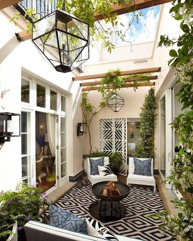 Die besten 25+ Terrassen teppiche Ideen auf Pinterest - terrasse einrichten ideen pouf