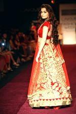 Regal Red & Gold Bridal Lengha