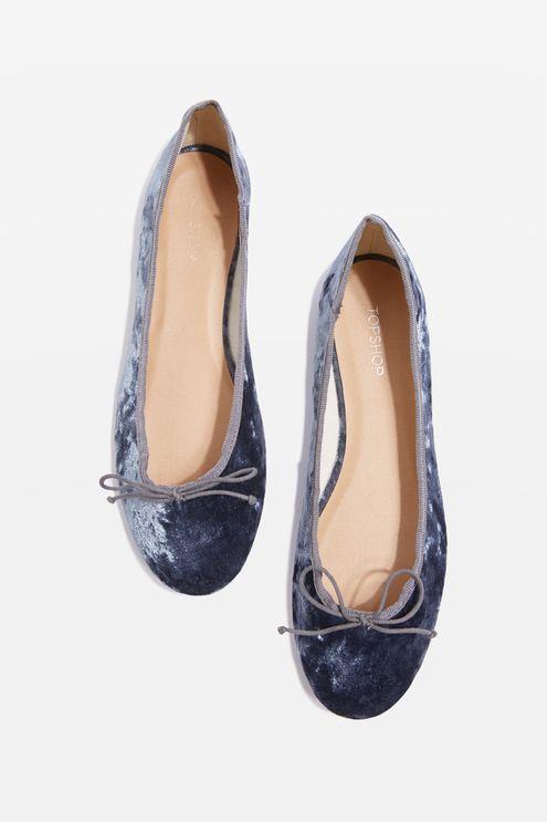 VISION Velvet Ballet Shoes