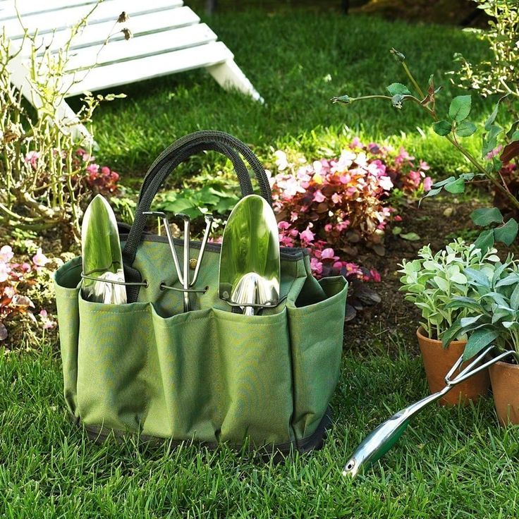 Eco Gardening Tote with Tools
