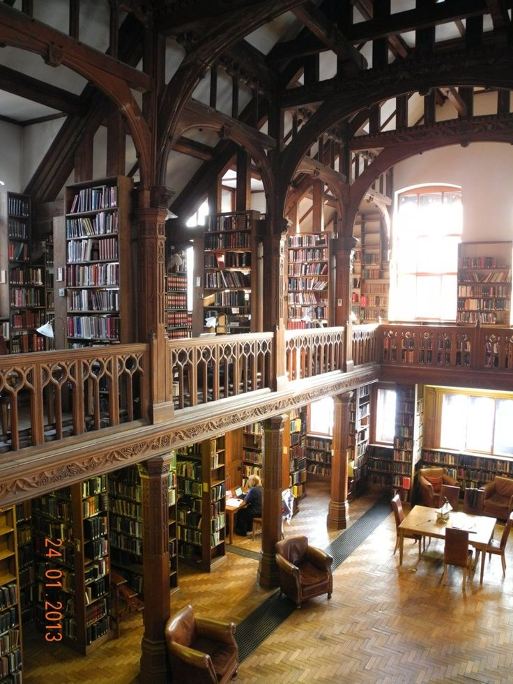 Gladstone Library in North Wales, a magical place where you can retreat from the world and read to your hearts delight