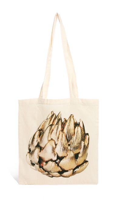 Gilded Artichoke Tote Bag (for my groceries).