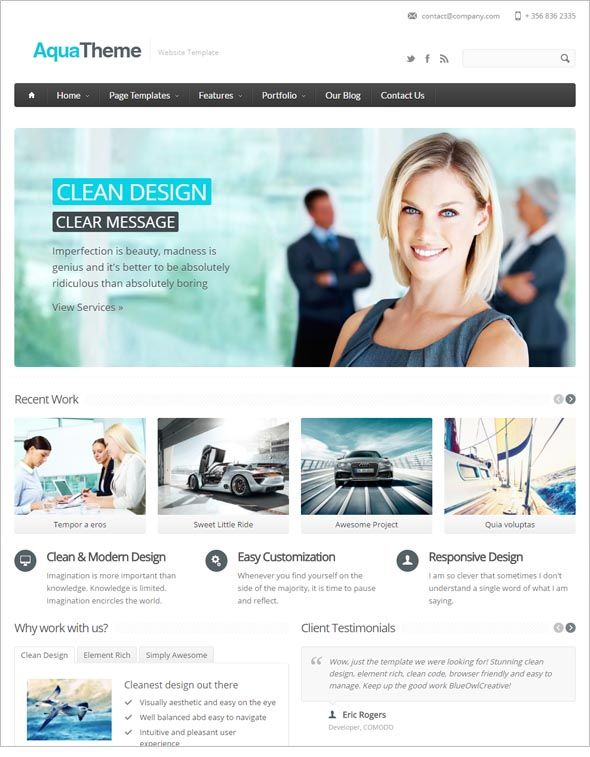 Download Responsive Drupal Theme Drupal Theme Imperfection Is Beauty