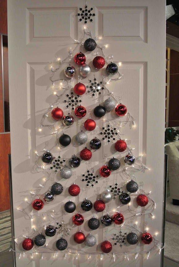 Változatok egy témára: szép karácsonyi ajtódíszek | Életszépítők