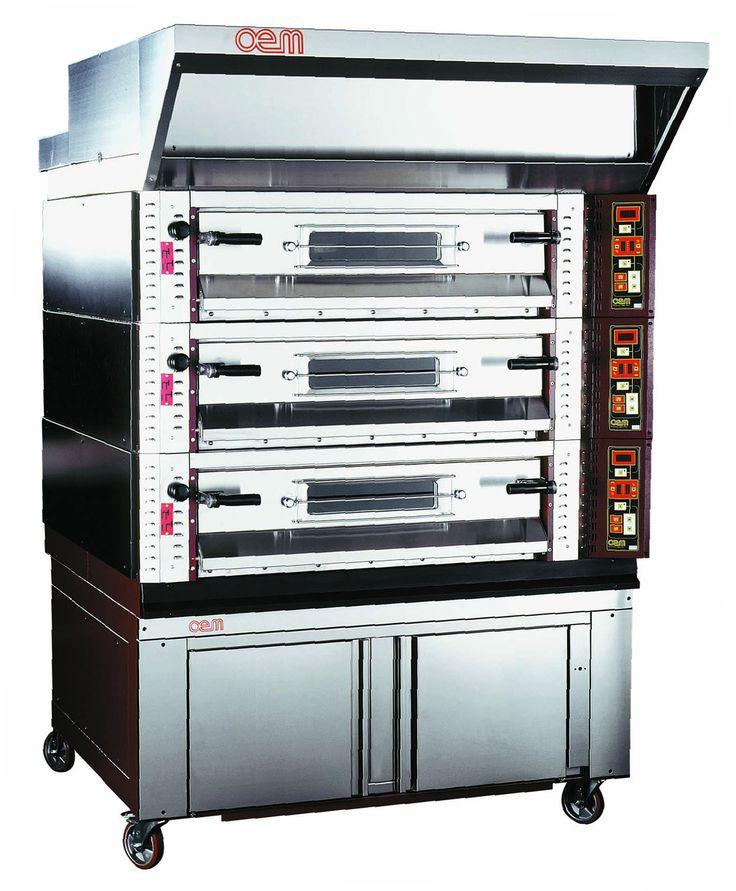 OEM - Pizza Ovens serie 2000 (photo) www.oemali.com