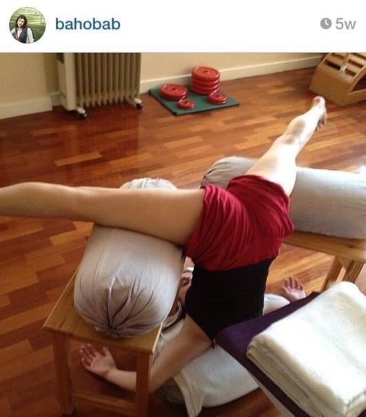 Yoga Bolster Meditation: 29 Best Images About Iyengar Yoga Bolster On Pinterest