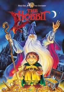 the hobbit cartoon - Watching this cartoon movie as a child encouraged me to read the books as a teenager. This was the start of my love for the world of fantasy.