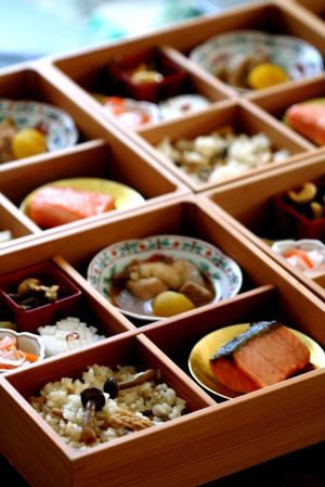 Japanese Shokado Bento Box 松花堂弁当