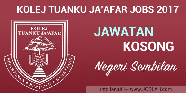 Kolej Tuanku Jaafar English Teacher Vacancy 2017   Kolej Tuanku Jaafar is an independent co-educational school for students aged 3 - 18. Our Primary day school follows the British National Curriculum and the International Primary Curriculum while our secondary boarding school modelled along British lines offers the Cambridge IGCSE and A level. Applications are invited from enthusiastic and collegial teachers wishing to join a warm and friendly boarding community who are prepared to…