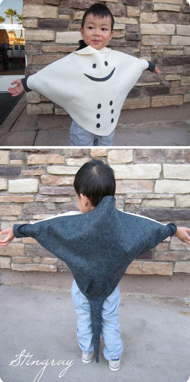 DIY Stingray Costume