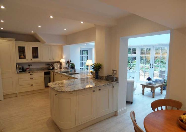 A converted kitchen finished to high quality