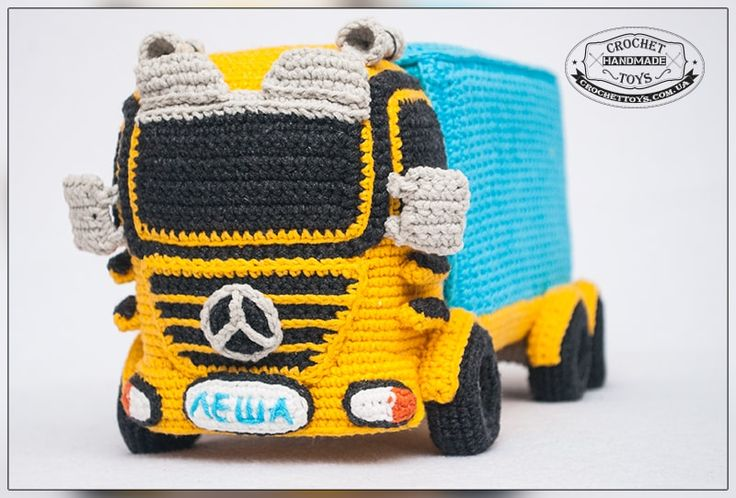 Need to translate but this is so cool. Would love a pattern. Вязаная игрушка машина. Crochettoys. Игрушки ручной работы