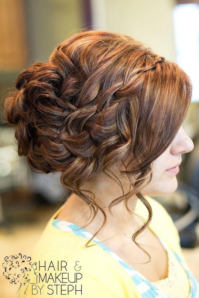 I really like this updo! Prom? Maybe! :) @Justine Fox, what do you think of this one?