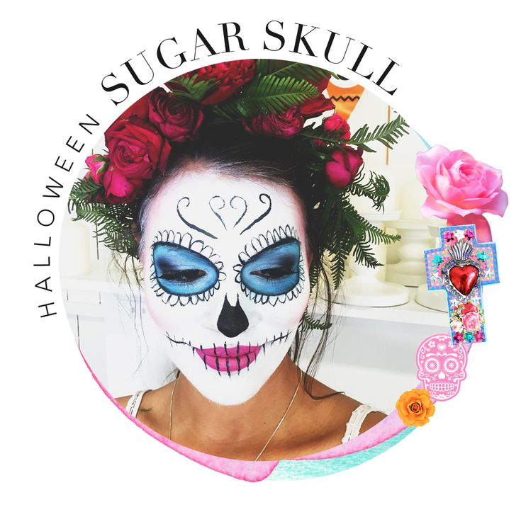 It's the American invention that stuck, and we're so glad it did! Halloween is good for many things – eating lollies, acceptably checking out your neighbours house without seem…  #muraboutique #blog #create #diy #creative #makeup #halloween #holidayseason #fun #colourful #mexican #facepaint