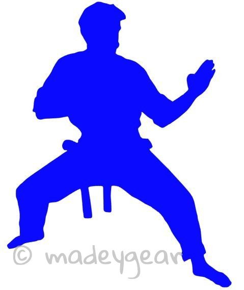 Car Window Vinyl Decal Sticker Sports Martial Arts Ready - Car window decal stickers sports