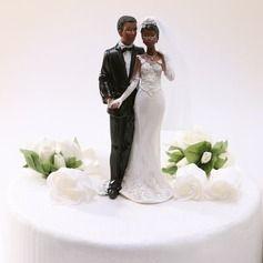 Décoration pour gâteaux - $18.99 - Jeune mariée et Marié Résine Mariage Décoration pour gâteaux  http://www.dressfirst.fr/Jeune-Mariee-Et-Marie-Resine-Mariage-Decoration-Pour-Gateaux-119030552-g30552