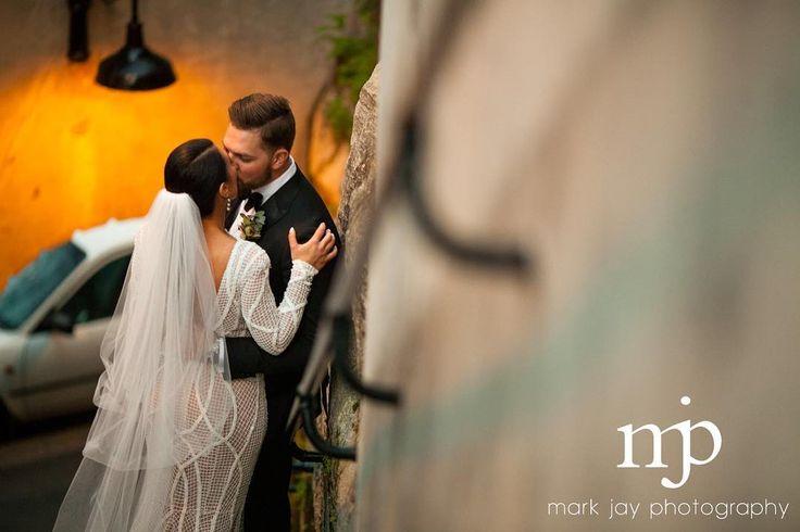 Steve  Katrina // Stolen kisses #weddingdress @rachelgilbertau  #hair @diior10_salon  #veil @sandbco_  #weddingvideo @c2films  #florist @thegroundsfloralsbysilva
