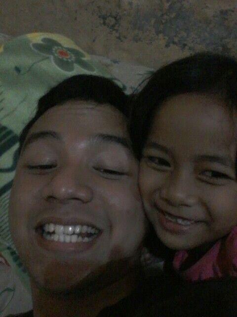With Little Sister Khaila