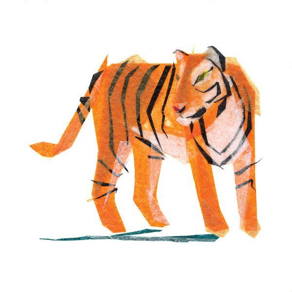 Jack Tiger by Darrah Gooden | Society6
