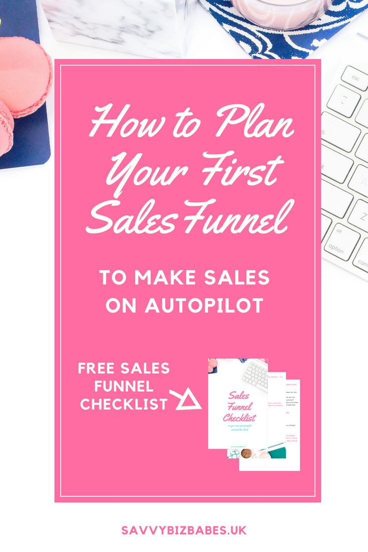 How to Plan Your First Sales Funnel to Make Sales on Autopilot (+ FREE Sales Funnel Checklist). If you would like to know more about passive income, making money from your mailing list, automate your business and book clients on autopilot, click through to read this post or save for later!