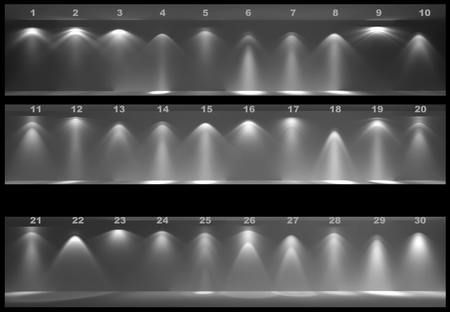 IES lights files for Vray