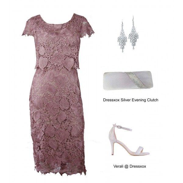 Koen Venice Lace Evening Dress