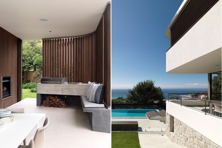 Terrace Details - Bronte Beach House by Decus Interiors