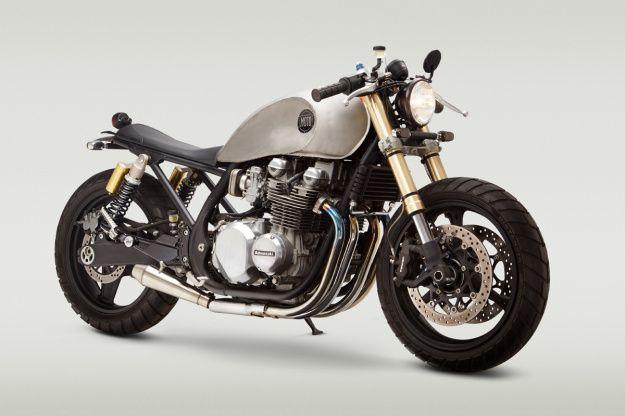 Low rider: Classified Moto's Kawasaki Zephyr +http://brml.co/14Mfqij
