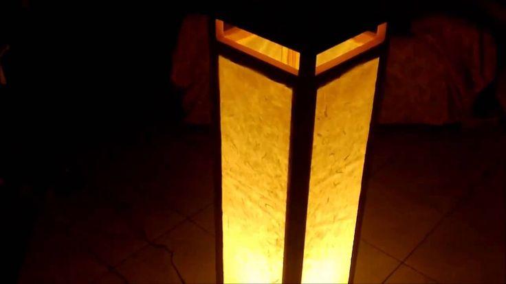 Lampada stile cinese autocostruita  DIY Chinese Lamp