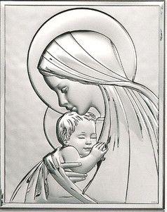 Obrazek Matka Boska z Dzieciątkiem - (BC#6302) Pasaż Handlowy CDATA