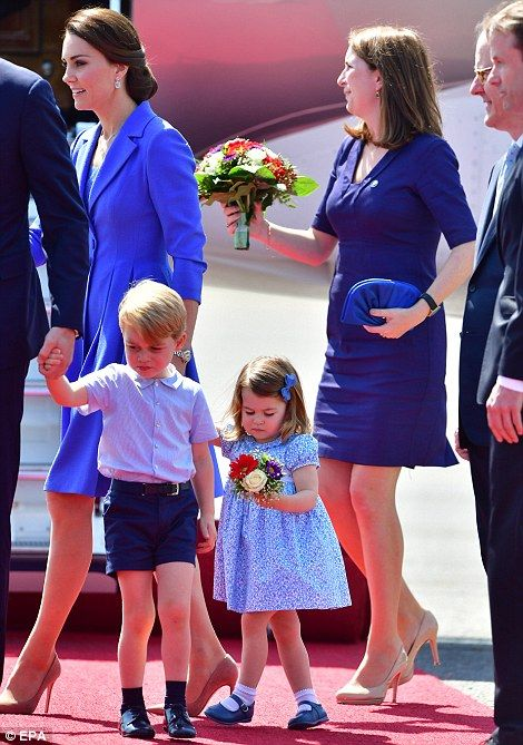 The Duchess was accompanied by her private secretary Rebecca Deacon who is stepping down from her post this summer after 10 years working for the royal family