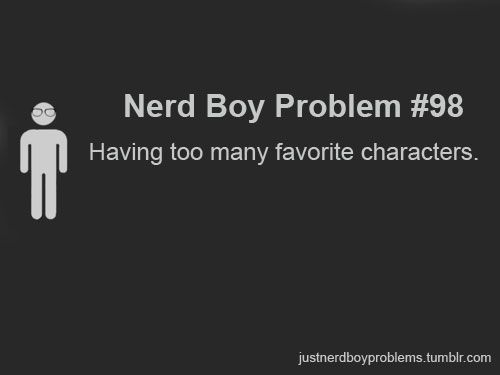 Nerd boy and girl also...I guess...but this happens...a lot...  ;)