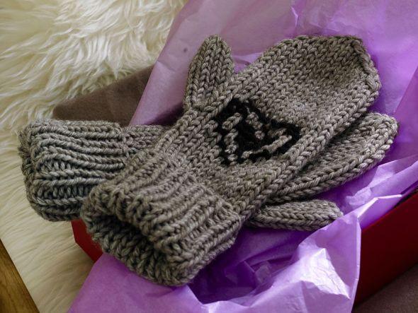Fausthandschuhe - kostenlose Strickanleitung   Für Sie
