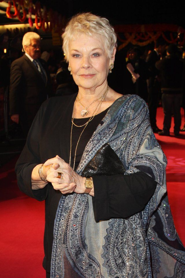Judi Dench at event of The Best Exotic Marigold Hotel