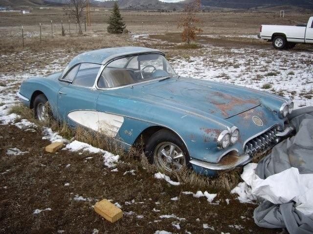 Corvette For Sale >> C1 field car | Rusted | Pinterest